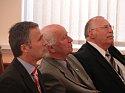 Premier Jens Stoltenberg podczas konferencji - Norwesko-Ostrzeszowskie Jubileusze