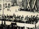 1964r. - Uroczystości na rynku z okazji XX-lecia PRL-u