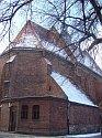 Kościół z tyłu