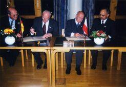 Potwierdzenie umowy partnerskiej wStuhr